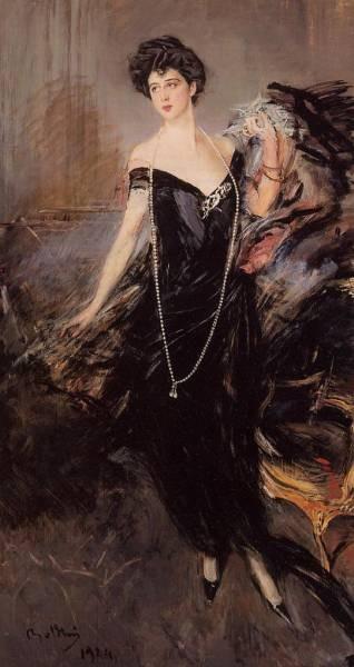 Portrait of Donna Franca Florio